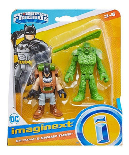 Imaginext Dc Super Friends Batman E Monstro Do Pantano M5645