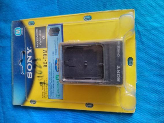 Carregador De Bateria Sony Bc-trm Original