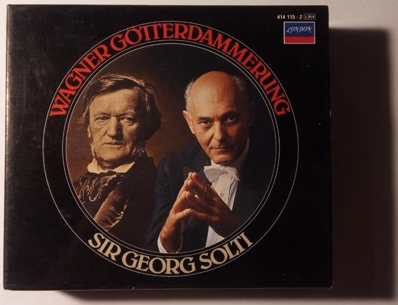 Wagner Box Imp 4 Cds Götterdämmerung 1985 Solti London