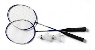 Raquetes Badminton Kit Completo 2 Petecas 2 Raquetes E Bolsa
