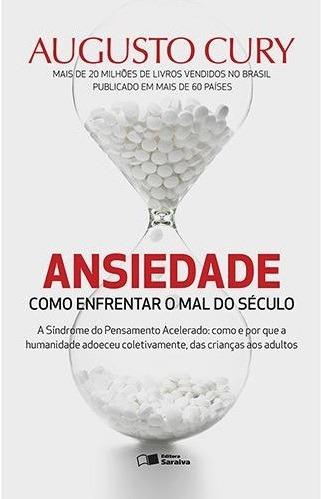Ansiedade Livro Augusto Cury Frete 9 Reais