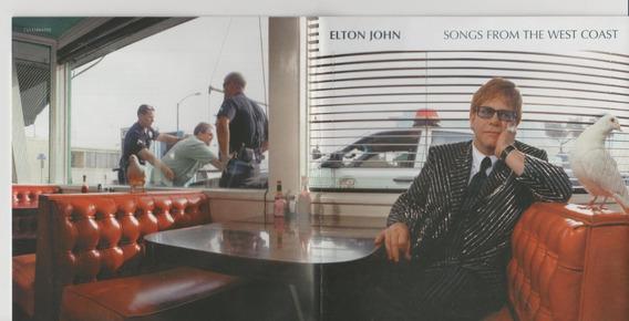 Cd Elton John 2001 Songs From West Coast Original