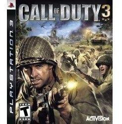 Call Of Duty 3 Impecavel Ps3 Raridade Envio Sedex A Cobrar