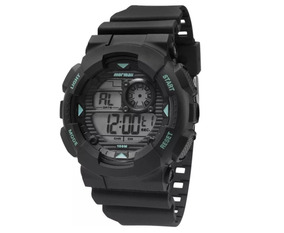 Relógio Masculino Pulseira De Borracha Mormaii Mo3415/8a