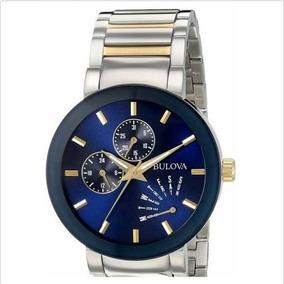 Relógio Bulova Usado Dois Mes D Uso 98c123 Clássico Quartzo