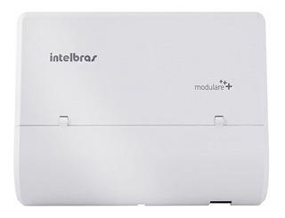 Micro Pabx Intelbras Modulare + 2 Linhas 4 Ramais/4x12* Full