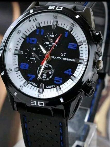 Relógios De Pulso Masculino Esportivo Gran Tourin Importado