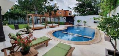 Alamos I, Las Quintas, Hermosa Residencia En Venta De 4 Recámaras Con Alberca Y Gran Jardín, Supermanzana 311. Cancún, Quintana Roo, México