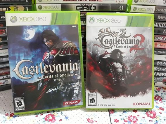 Castlevania 1 E 2 Original Xbox 360