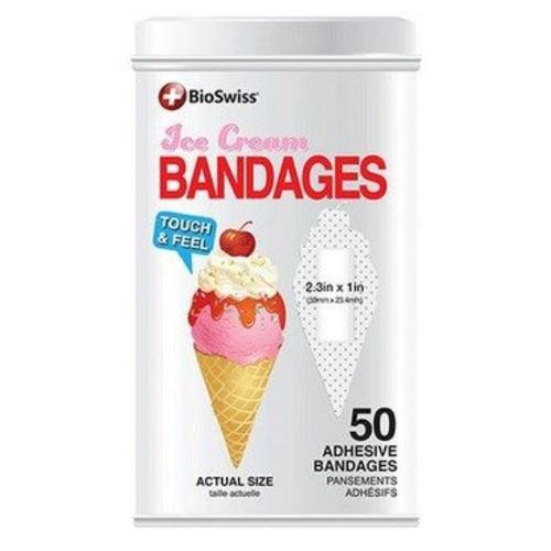 Bioswiss - Ice Cream - Latinha 50 Band Aids Sorvete