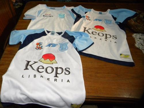 Imagen 1 de 6 de Lote De 3 Camisetas De Basquet De Niños Usadas