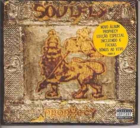 Cd Soulfly - Prophecy - Edição Especial - Novo E Lacrado