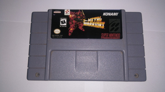Metal Warriors - Super Nintendo Paralelo