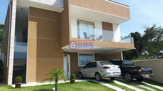 Casa Em Condomínio-à Venda-cajueiros (itaipuaçu)-maricá - Macn40011