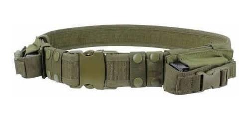 Imagen 1 de 2 de Cinturon Condor Tactical Belt Con Dos Compartimientos