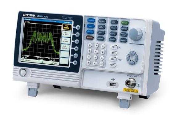 Gw Instek Gsp-730 - Analizador De Espectro, 150khz A 3ghz