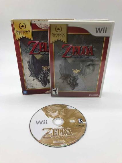 Zelda Twilight Nintendo Wii Original Completo Sleeve