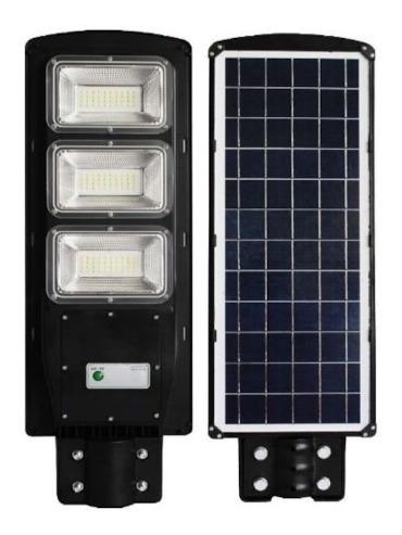 Luminarias Led 120w Solar Para Poste De Alumbrado Público