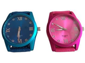 Relógio De Pulso Feminino Estiloso Luxo Moda Lindo Promoção