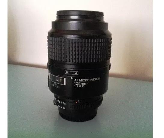 Lente Af Micro Nikkor 105mm 2.8 D