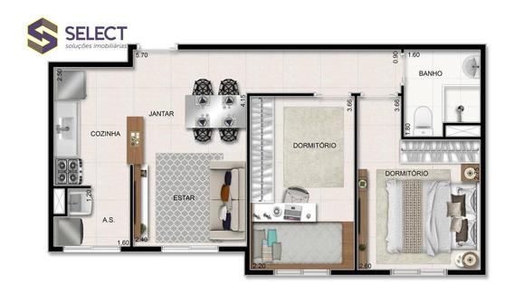 Futuro Lançamento Minha Casa Minha Vida Em São Bernardo Do Campo, 2 Dormitórios E Lazer Completo - Ap0307