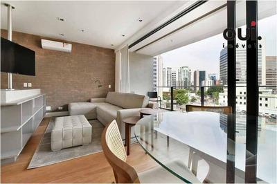 Flat Residencial Para Locação, Itaim Bibi, São Paulo - Ap2885. - Fl0058
