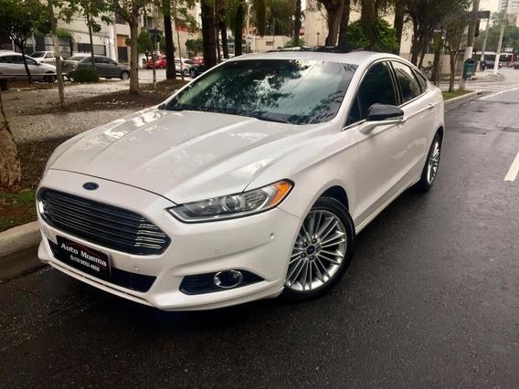 Ford Fusion 2.0 Titanium Awd Blindado N3a!!!! 50mkm