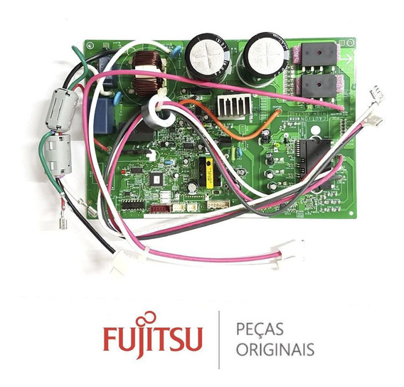 Placa Condensadora Ar Condicionado Fujitsu 12000 Aobr12jgc