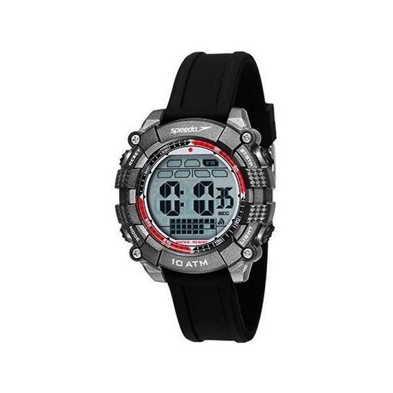 Relógio Speedo Masculino Digital Cinza/preto 80639g0evnp1