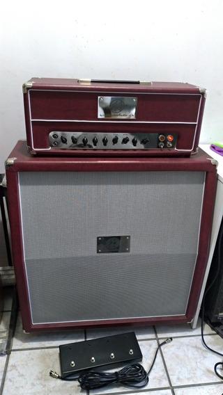 Amplificador Valvulado Acedo Audio 302 50w N Fender Marshal