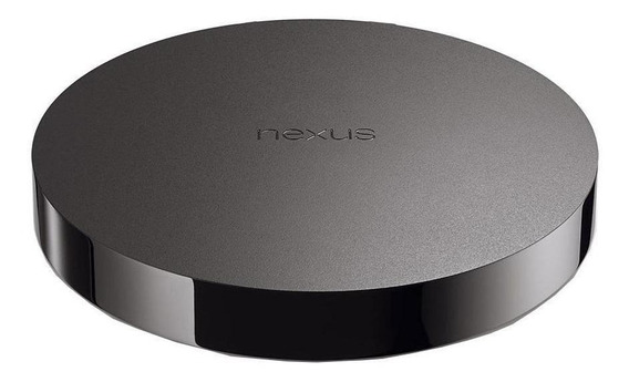 Tv box Asus Nexus Player de voz Full HD 8GB preto com memória RAM de 1GB