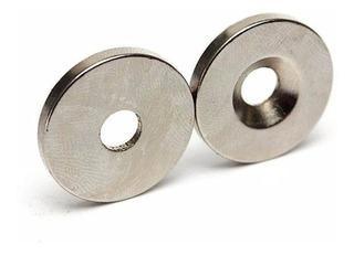 Iman Neodimio N52 Por Unidad 20x3 Perforados Y Sin Perforar