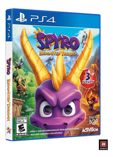 Spyro Reignited Trilogy Ps4 En Español
