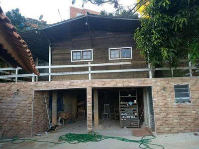 Chácara No Santa Gertrudes - Toda Murada - 1180 Mt - Casa 65mt2 - V4646
