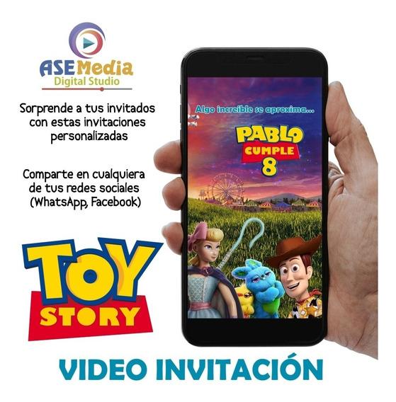 Toy Story 4 - Vídeo Invitación Digital