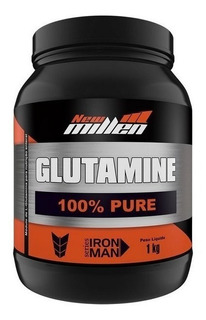 Glutamine 100% Pure 1kg Glutamina New Millen