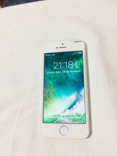 iPhone 5s Prata 16gigas