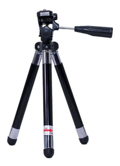 Mini Tripé Greika Wt-2881 42cm De Metal Para Foto E Vídeo