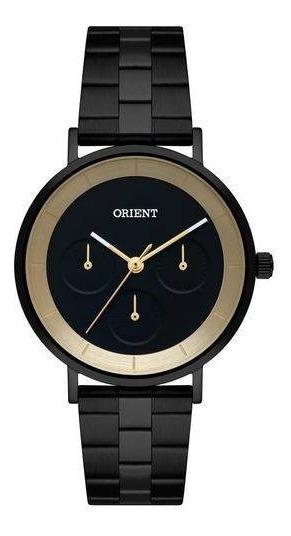 Relógio Orient Feminino Ref: Fpssm003 P1px Multifunção Black