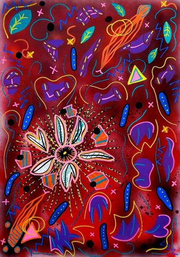 Lámina Original - Sistema Nebular (red_sn0002)