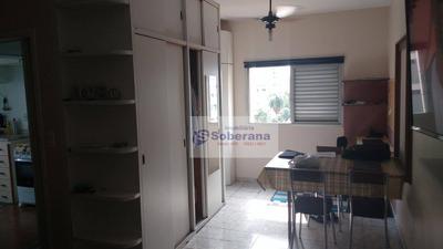 Kitnet Mobiliado Com 1 Dormitório Para Alugar, 37 M² Por R$ 900/mês - Centro - Campinas/sp - Kn0110