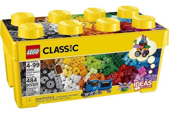 Lego Classic Caixa Média Peças Criativas 484 Pçs- Lego 10696