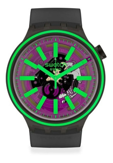 Reloj Swatch Big Bold Pink Taste - So27b113 - 47 Mm