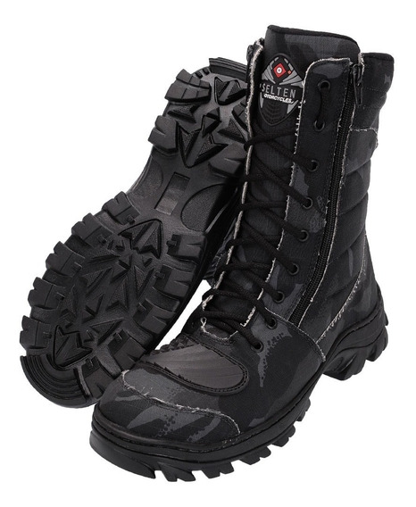 Bota Coturno 4009 Caminhada, Trilha, Rock, Paint Ball Top D