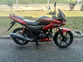 Honda Cbf 125 Negra Con Rojo