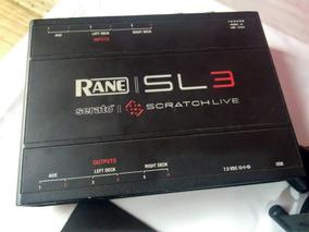 Rane Sl3 Interface De Áudio Profissional Serato Dj Pro