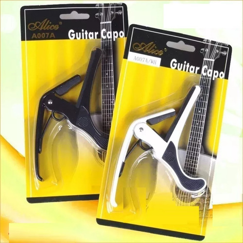 Imagen 1 de 3 de Capotraste Importado Capo Guitarra Electroacustica Electrica