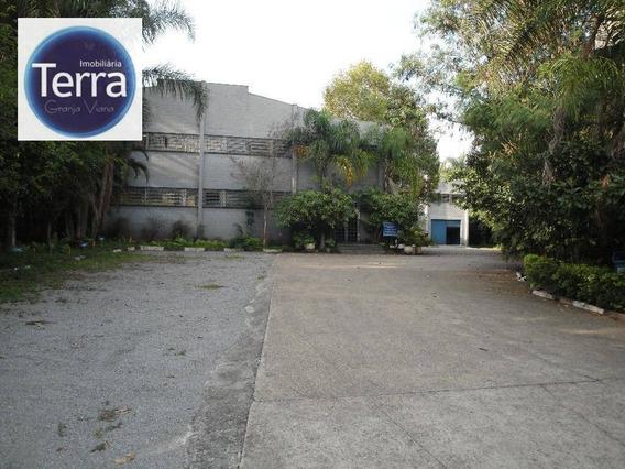 Galpão Industrial Para Locação, Jardim Passárgada I, Granja Viana. - Ga0074