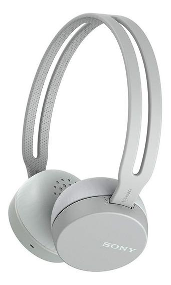 Fone De Ouvido Sony Wh-ch400h Headphone Bluetooth Cinza