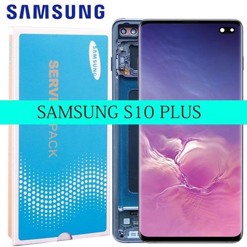 Pantallas Completa Samsung S10 Plus  Repuesto Somos Tienda